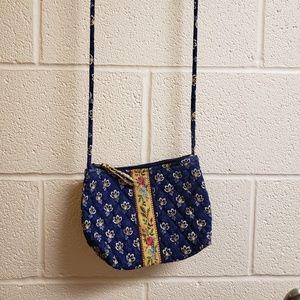 Vintage Vera Bradley Maison Blue purse